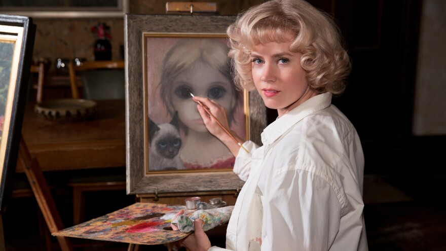 Amy Adams stars as painter Margaret Keane in the new movie <em>Big Eyes</em>.