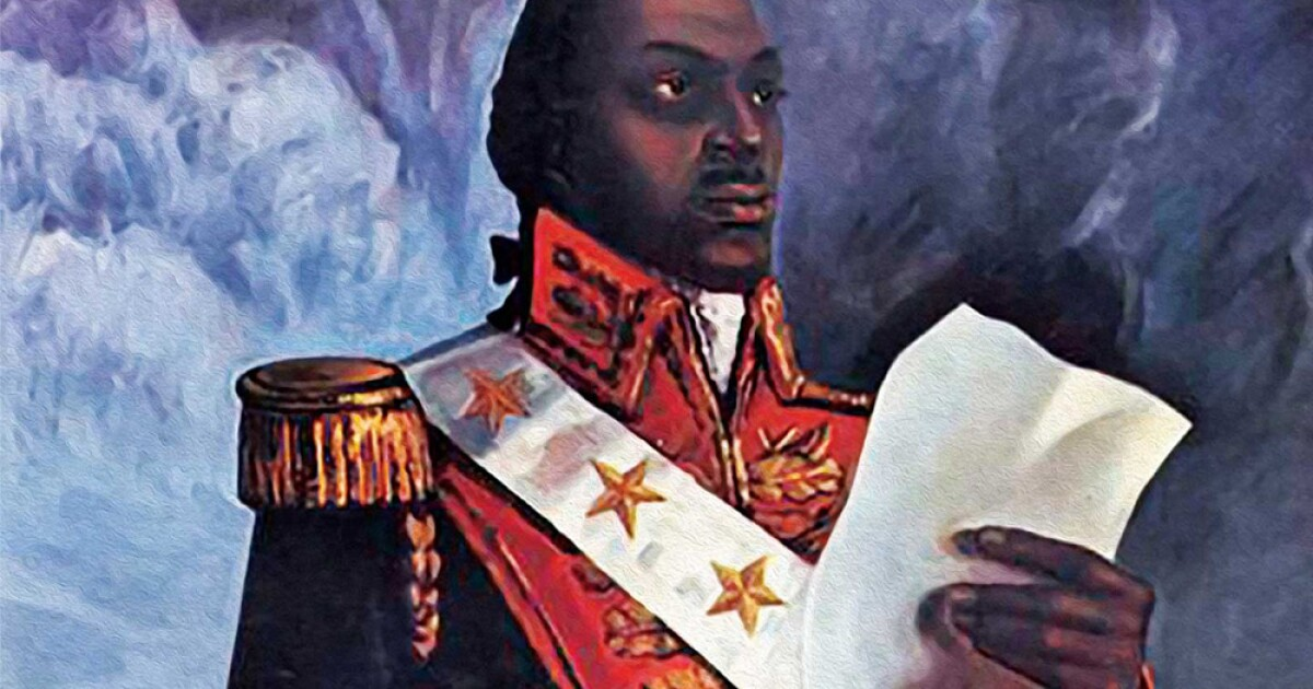 'Black Superhero': Toussaint Louverture Biography An 'Opening' To Historic Haiti Revolt