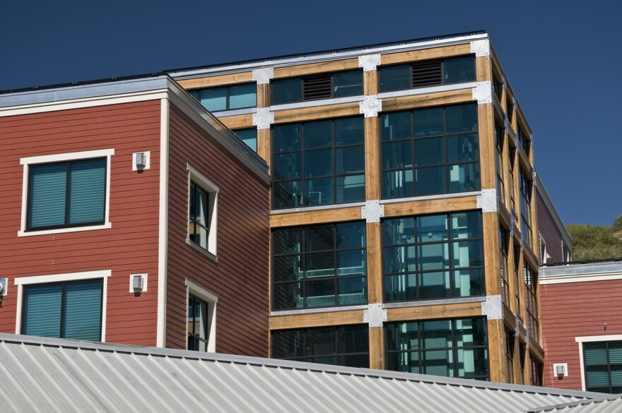 A photo of apartments in Park City, Utah.