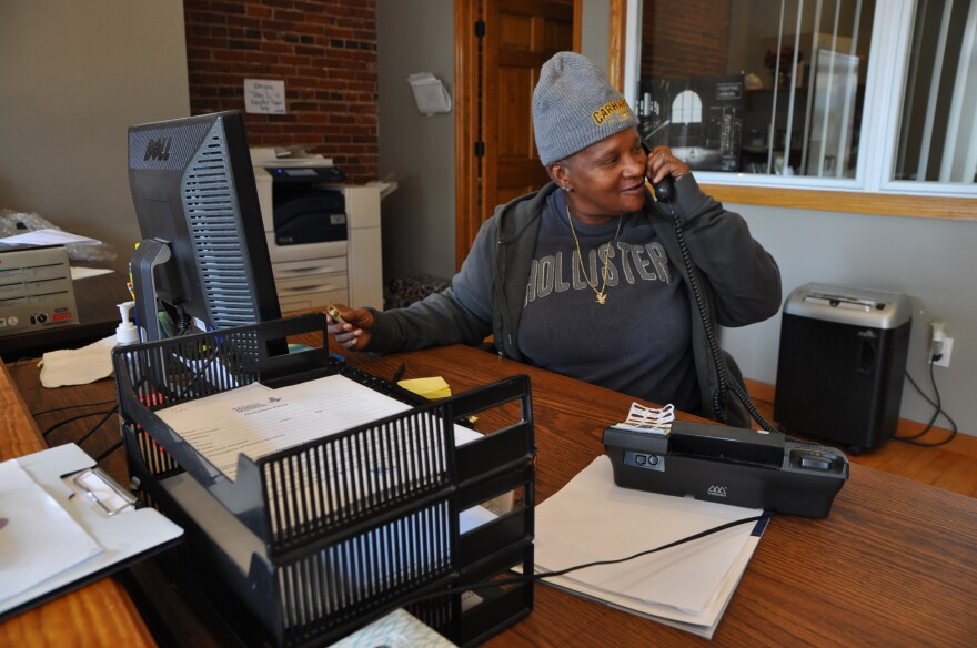 Mary Lou Walker, 62, volunteers at a St. Louis organization for women who have been incarcerated.