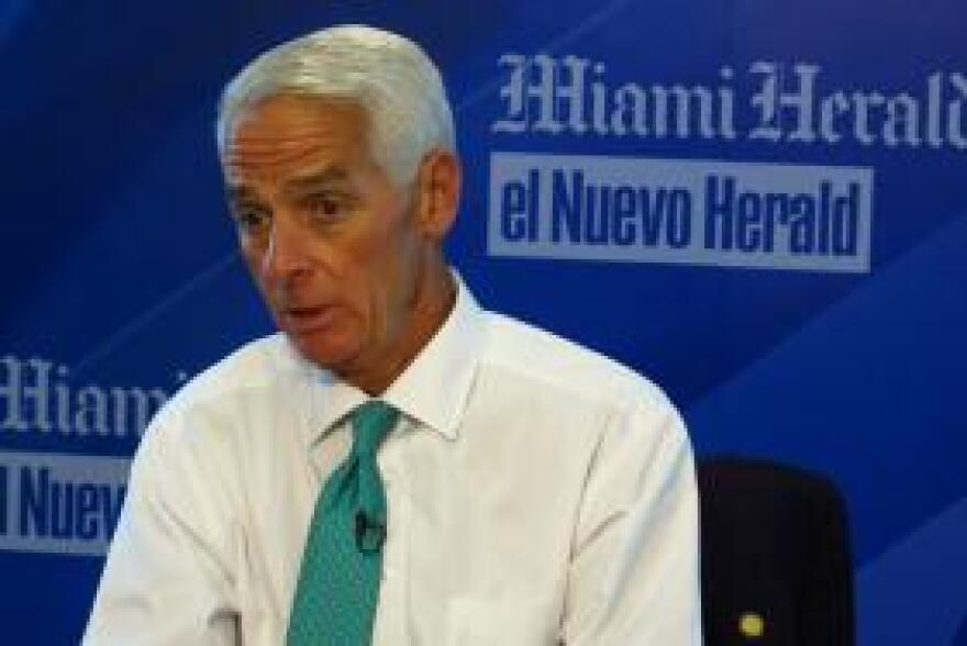 U.S. Rep. Charlie Crist is accusing DeSantis of using the vaccine sites to further his agenda, while not caring about others affected by the pandemic.