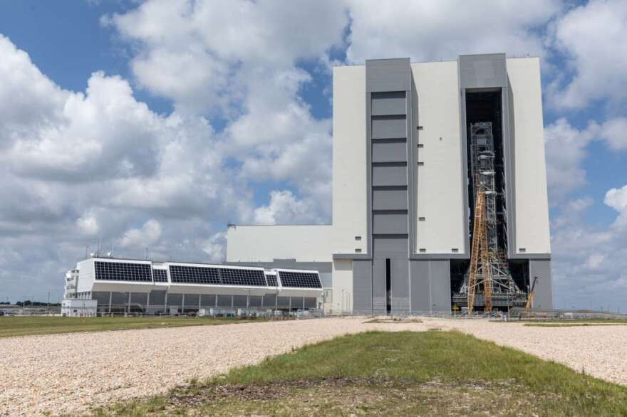 The firing room, mobile launcher and Vehicle Assembly Building all received upgrades ahead of NASA's next moon mission Artemis.