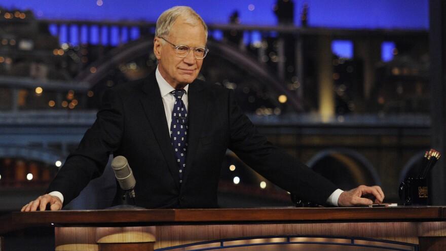David Letterman hosts his final <em>Late Show</em> episode on Wednesday.