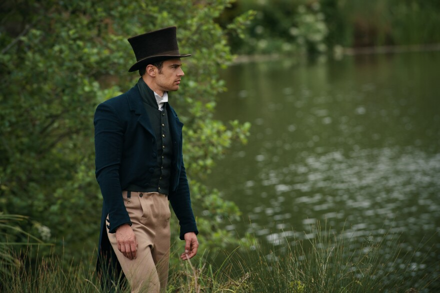Shown: Sidney Parker (THEO JAMES)