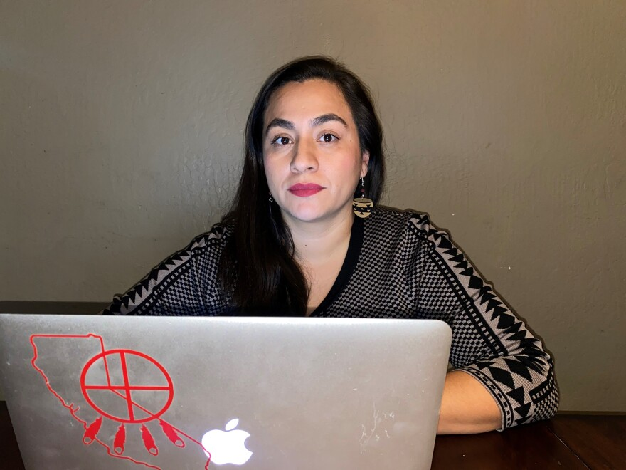 Virginia Hedrick is the executive director of the California Consortium for Urban Indian Health. She's been hosting regular Facebook Live events on how American Indian communities are affected by the coronavirus since the beginning of the pandemic.