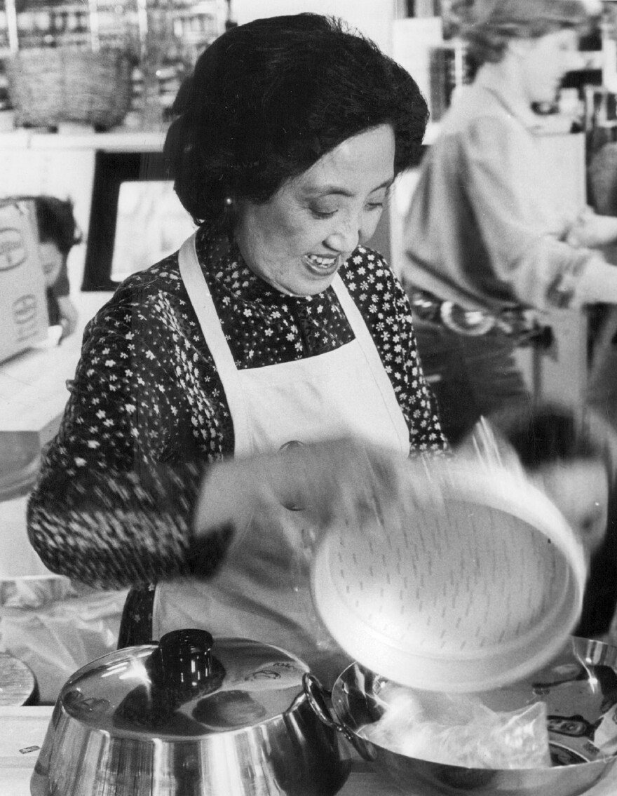 Joyce Chen opened her first Chinese restaurant in Cambridge, Mass., in 1958.