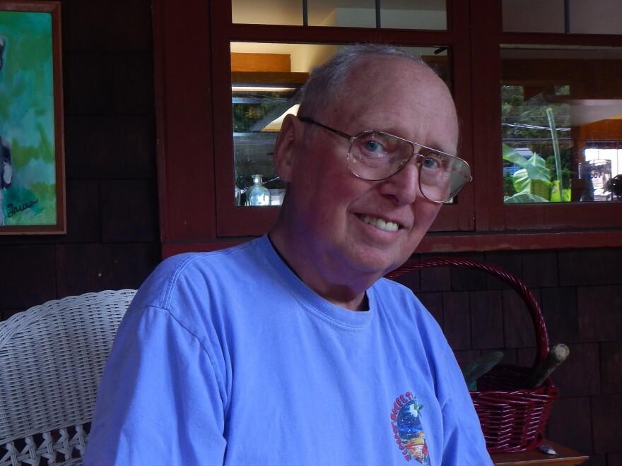 Cancer survivor and fall victim Gene White of Des Moines, Wash.