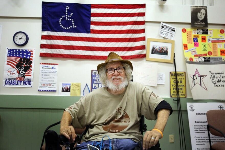 Bob Kafka, an organizer for ADAPT Texas