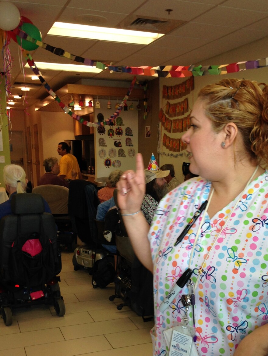 Brenda Rebollar is the Wellness Center director.