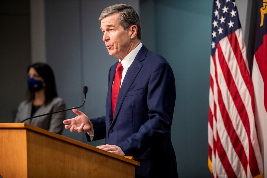 Roy Cooper press conference
