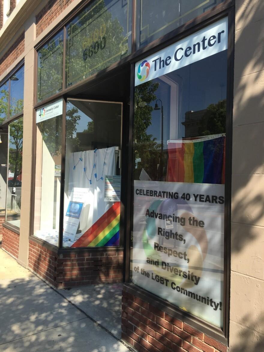 The current LGBT Community Center location on Detroit Avenue