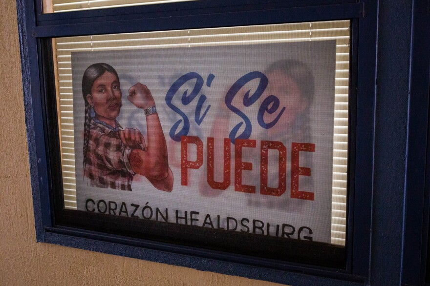 "Corazón Healdsburg, a nonprofit that works with the local Latino community, is helping families affected by the Kincade Fire. ""They're sudden,"" Leticia Romero, director of community engagement says of wildfires and their trauma. ""You go to bed, and you wake up to this natural disaster."""