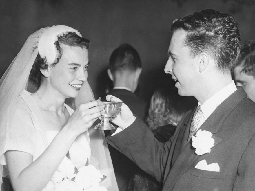 Sandra Day O'Connor on her wedding day.
