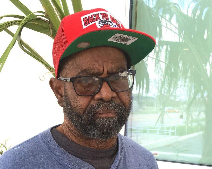 Alvin Joseph of St. Thomas made it through the path of a hurricane and two evacuations without missing a dialysis treatment.