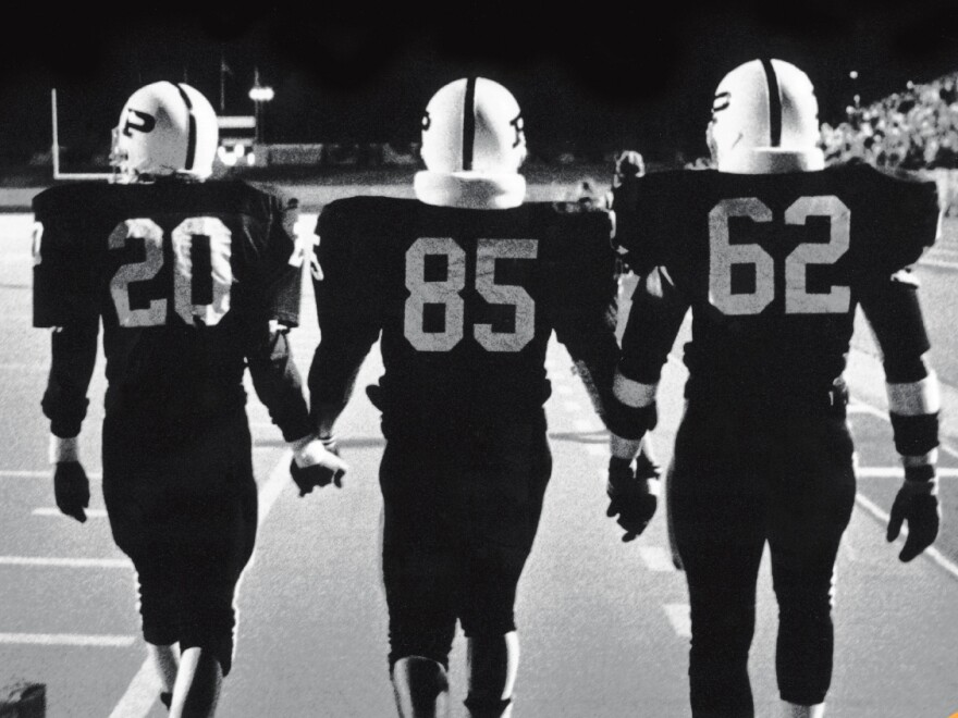 Cover art from Friday Night Lights, 25th Anniversary Edition.