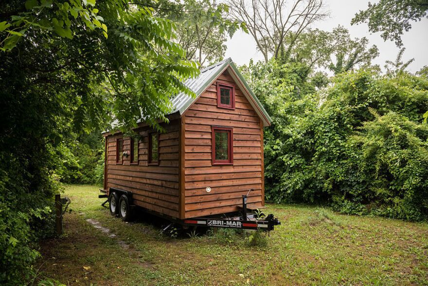 """A """"tiny house"""" in Richmond, Va., in 2015"""