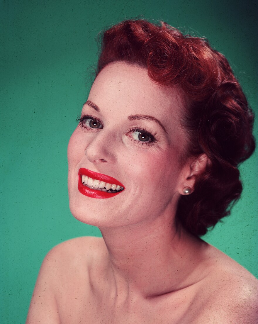 "Irish-American actress Maureen O'Hara, seen in 1947 and known as the ""Queen of Technicolor,"" died Saturday at her home in Boise, Idaho. She was 95."