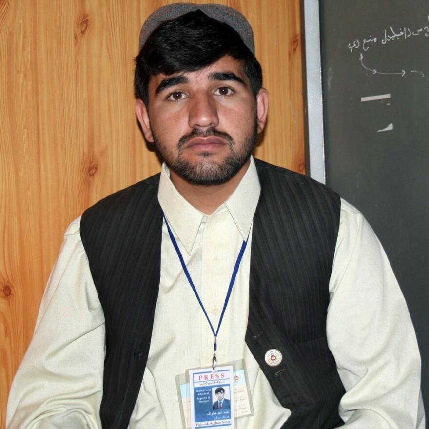 Ahmad Omid Khpalwak, in an undated photo.
