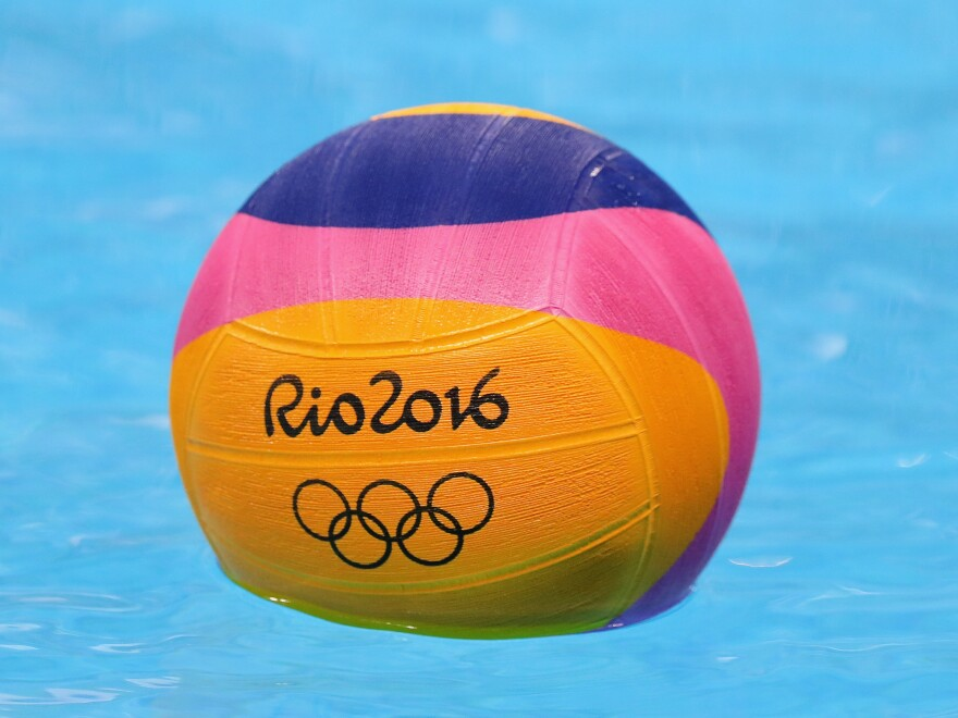 Mark well, please: This is a water polo ball, not a volleyball. Under no circumstances is it to be spiked, served or — heaven help you —<em>bumped</em>.