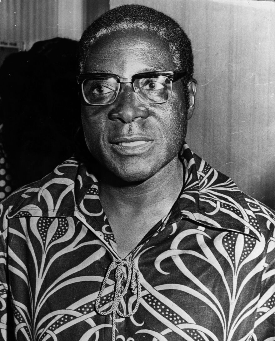 Mugabe, shown in 1976, was regarded as a hero in his younger days, but over the decades his leadership became increasingly authoritarian. Under his watch, Zimbabwe suffered runaway inflation, mass unemployment and chronic food, water, electricity and fuel shortages