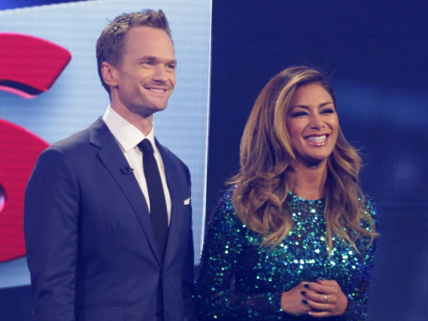 Nicole Scherzinger plays sidekick to host Neil Patrick Harris on NBC's new variety show.
