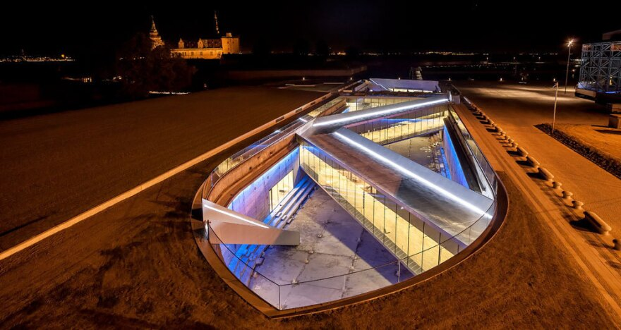 The Danish Maritime Museum in Elsino, which is completely underground, was designed by Ingels.