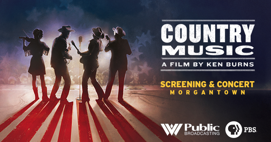 A screening and concert celebrating Country Music: A Film By Ken Burns will be help April 16 at 7 p.m. at the WVU Creatives Centers at West Virginia University in Morgantown, WV