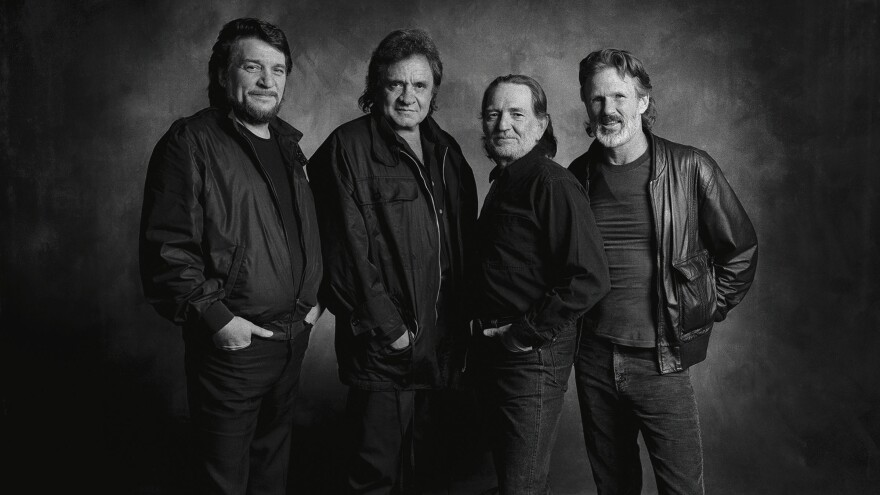 The Highwaymen. From left: Waylon Jennings, Johnny Cash, Willie Nelson and Kris Kristofferson.
