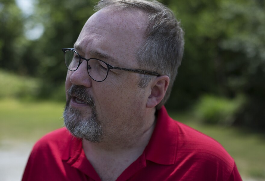 SIUE professor Andrew Theising has researched East St. Louis history for 25 years.