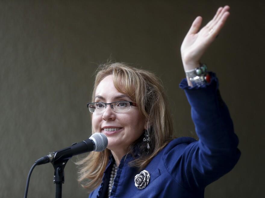 Former U.S. Rep. Gabby Giffords, D-Ariz.