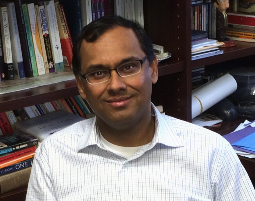 Dr. Sandeep Jauhar is the creator and director of the Heart Failure Program at Long Island Jewish Medical Center, a teaching hospital. He's the author of an earlier memoir called <em>Intern</em> and contributes to <em>The New York Times</em>.