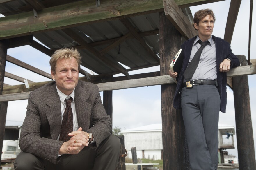 Woody Harrelson and Matthew McConaughey star in HBO's series <em>True Detective</em>.