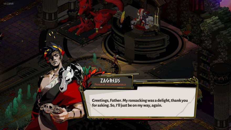 In <em>Hades</em>, you play as the son of the titular deity, battling to escape the underworld.