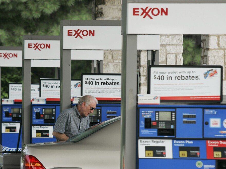 Exxon said its profits soared 69 percent during the first three months of 2011.