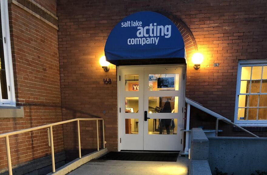 Photo of SLAC entrance.