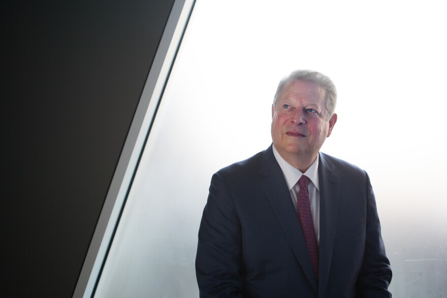 """When it comes to convincing climate change deniers, Al Gore says, """"Mother Nature is more persuasive than the scientific community."""""""