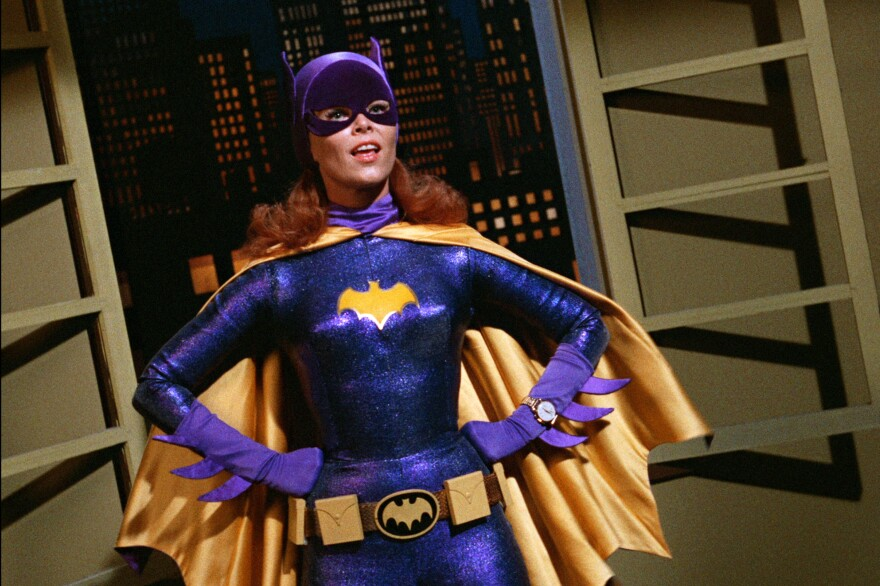 Yvonne Craig portrays the crime-fighting Batgirl in the 1960s television hit <em>Batman</em>. Craig died Monday, in her Los Angeles home from complications from breast cancer. She was 78.