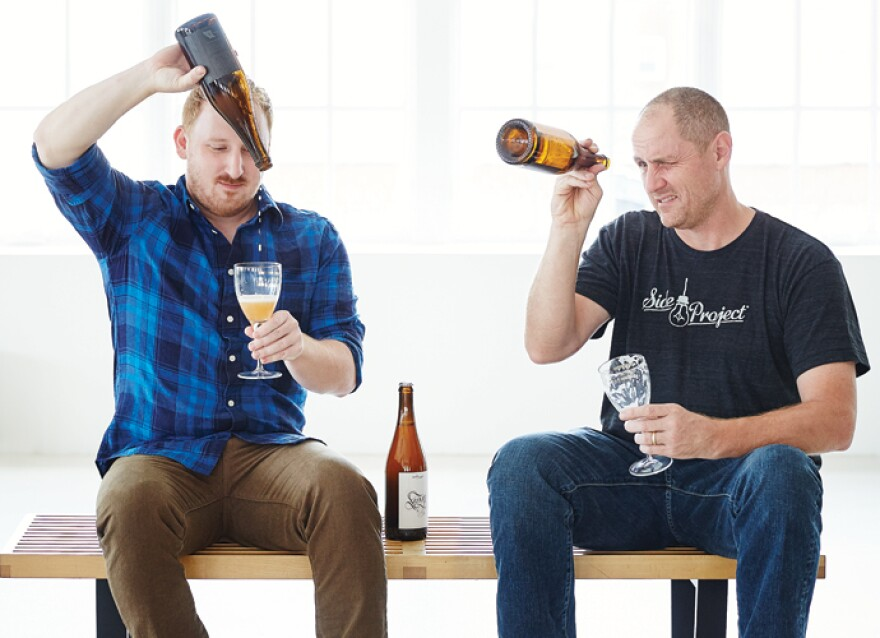 Justin Saffell and Matt Walters of Foeder Crafters of America