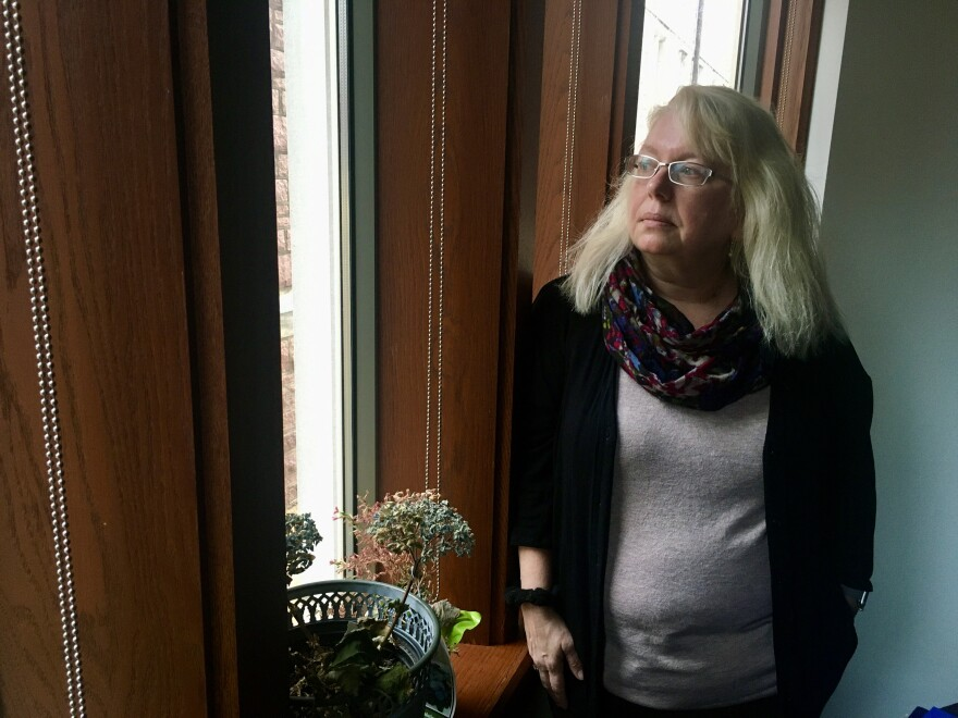 Dr. Deanna Barch, shown here in her Washington University Office, has found the prevalence of suicidal thoughts and behaviors in young people is higher than once believed.