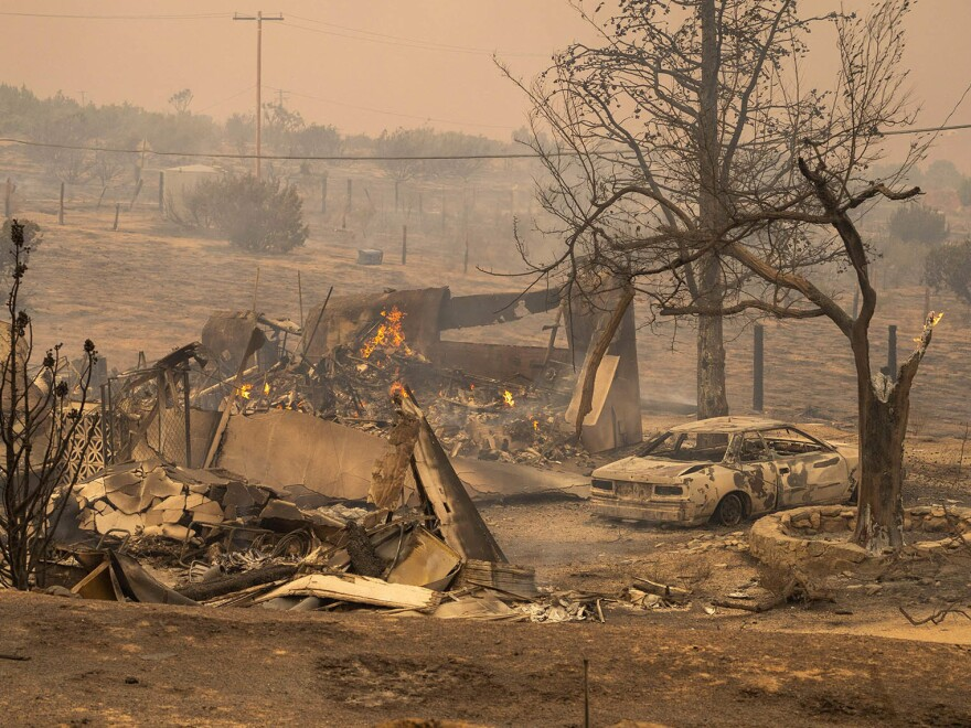 California's wildfires have had devastating impacts on communities, but elsewhere, they've potentially benefitted some ecosystems.