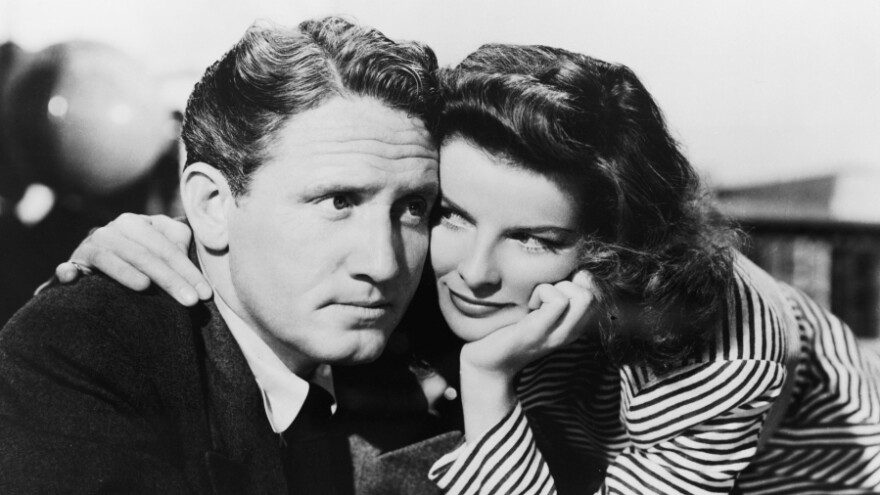Spencer Tracy (left) and Katharine Hepburn first appeared alongside one another in 1942's <em>Woman Of The Year</em>, setting off an on-screen relationship that lasted almost three decades.<em></em>