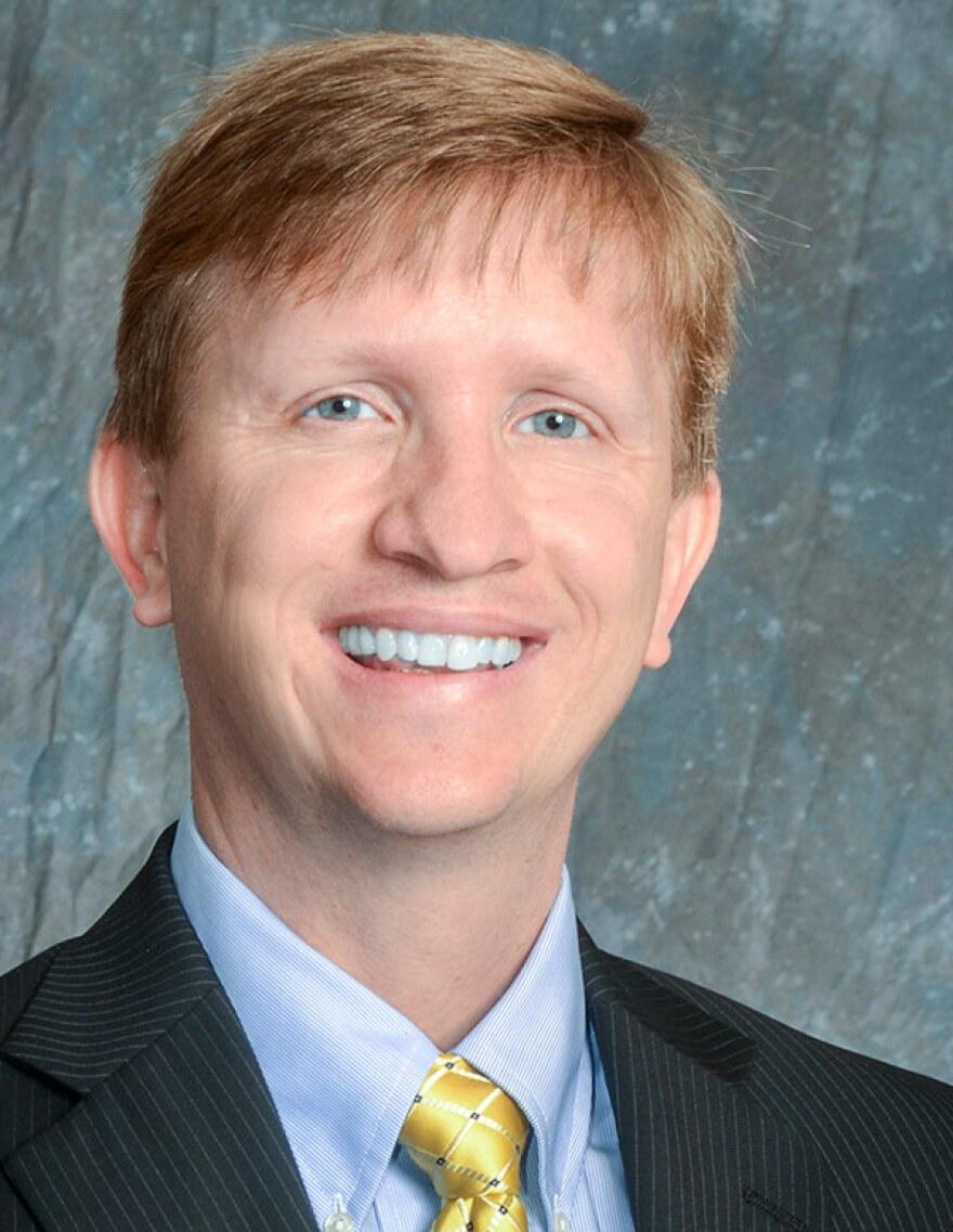 University of Akron President Matthew Wilson