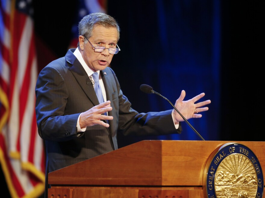 Ohio Gov. John Kasich, a Republican, is eager to preserve an expansion of Medicaid that he pushed through, despite opposition from other members of his party.
