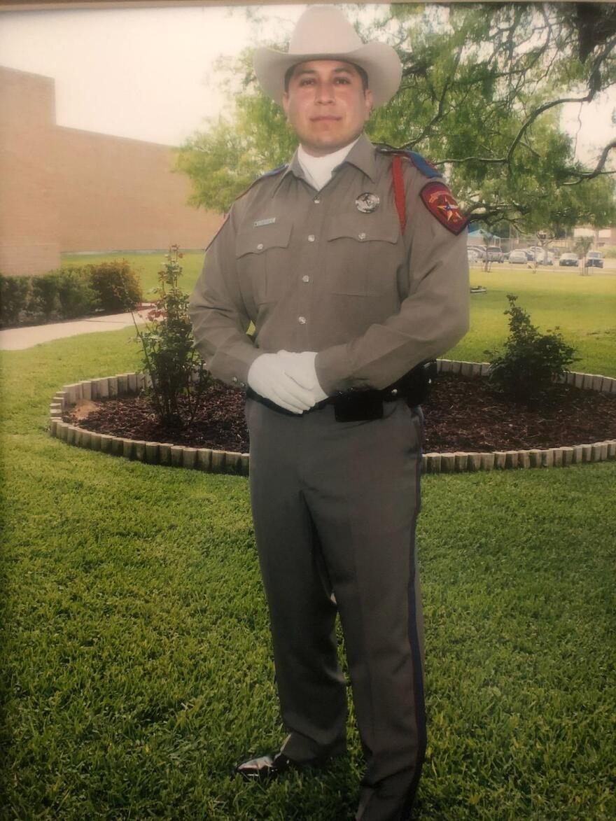 LeRoy Torres during his tenure as a State Trooper with the Texas Department of Public Safety.