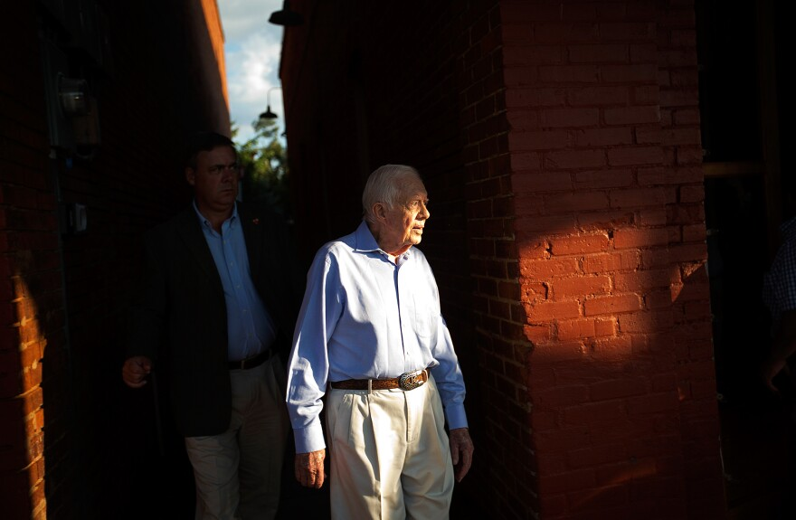 Former President Jimmy Carter said this month that immunotherapy treatment has shrunk melanoma tumors.