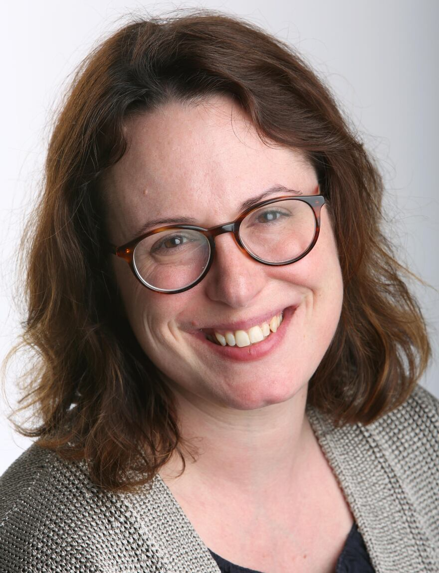 """Maggie Haberman began covering the Trump campaign for <em>The New York Times</em> in 2015. """"I have not had a lot of sleep in the last four years,"""" she says."""