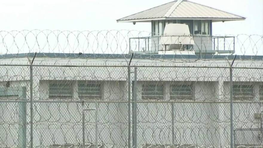At Tomoka Correctional Institution (pictured) near Daytona and other facilities, inmate would seek work outside the compound to escape from the brutal heat. The coronavirus has limited those opportunities.