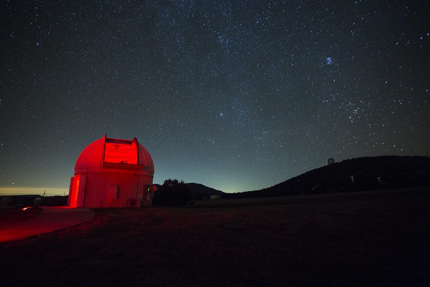 The McDonald Observatory in the Davis Mountains