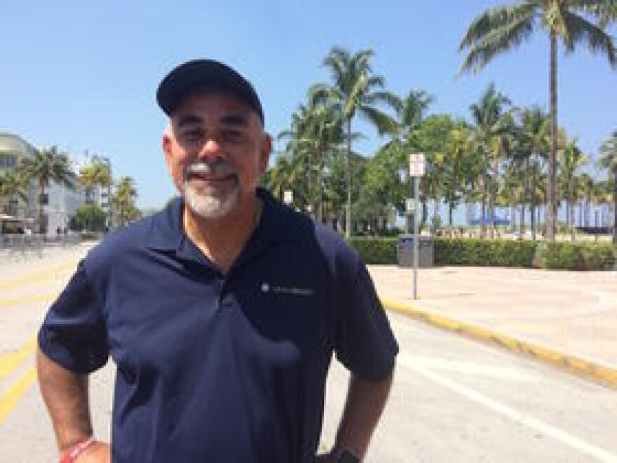 Miami Beach city manager Jimmy Morales is working with others to salvage the games.