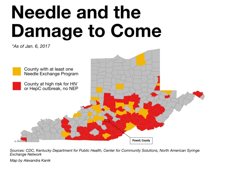 needle map